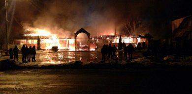 З'явилися нові подробиці і фото пожежі на батьківщині Єпіфанова