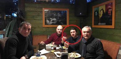 """Ховаючись від поліції, """"укропівець"""" виклав веселе фото з ресторану"""