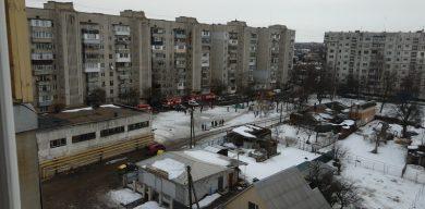 На Курській згоріла квартира у багатоповерхівці