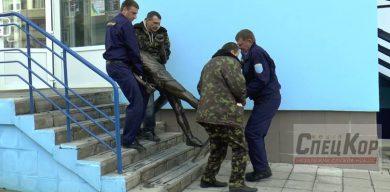 Ганьба: У Сумах демонтували пам'ятник Голубничому