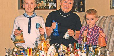 Жителька Сумщини зібрала рекордну колекцію