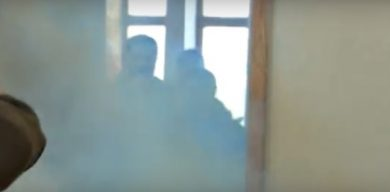 Стало відомо, хто кинув димову шашку на виконкомі