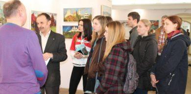 У Сумах відкрилась виставка відомого харківського художника
