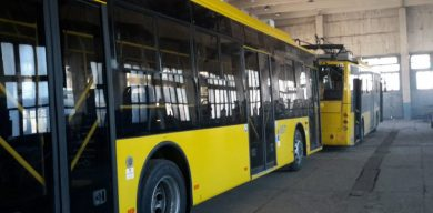 """Работники """"Электроавтотранса"""" сломали три новых троллейбуса"""