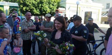 В Сумах уволилась организатор гей-парада