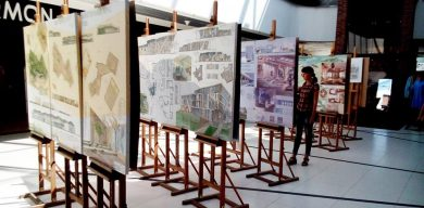 """У """"Мануфактурі"""" відкрилась виставка майбутніх архітекторів"""