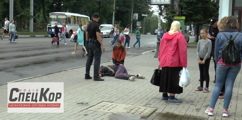 b64f2b7c30b3ea У центрі Сум жорстоко побили бомжа — Сумські Дебати