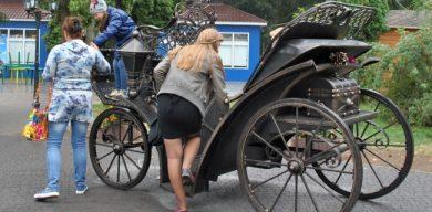 Учитель-трудовик смастерил карету Шевченко весом в тонну