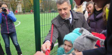 Юрій Чмирь здійснив давню мрію дітей