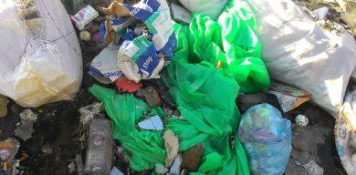 Дом в Сумах – полон мусора и бомжей