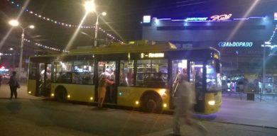 В Сумах не смогли набрать людей на курсы водителей троллейбусов