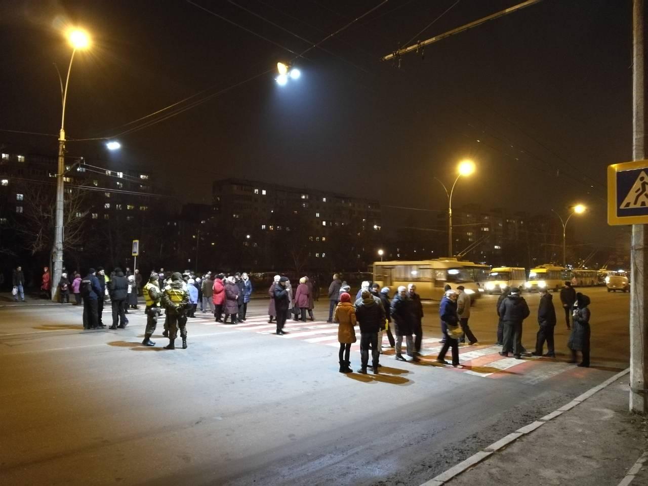 Сумчани перекрили вулицю Харківську