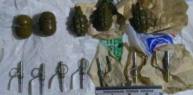 З приватного будинку вилучили цілий арсенал зброї, імовірно привезеної з АТО