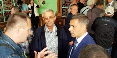 Екс-губернатор Юрій Чмирь зустрівся з чорнобильцями Сумщини (фото)
