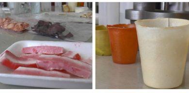 Еко-посуд та штучне сало: Що виготовляють в унікальній лабораторії у Сумах