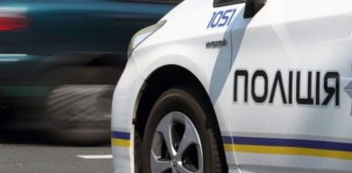 Поліцейські розбили службову автівку, наздоганяючи п'яного водія