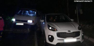 У Сумах автомийник потрапив у ДТП на чужій автівці (фото)