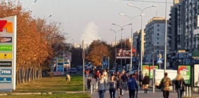 З боку Хімпрому піднімається великий дим