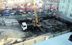 На Засумской все-таки строятся