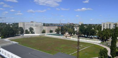 У Сумах реконструювали стадіон за стандартами РФ