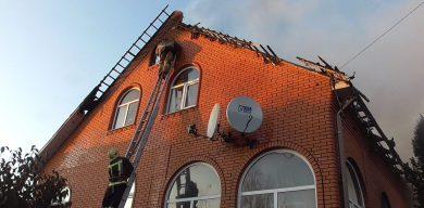 Рятувальники повідомили подробиці жахливої пожежі маєтку на Веретенівці