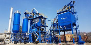 Асфальтобетонний завод RGM group розпочав роботу