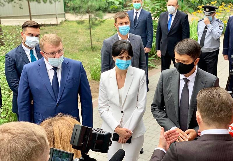 На Сумщину завітав голова Верховної Ради України Дмитро Разумков