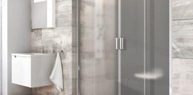 Душевая дверь: особенности конструкции и установки