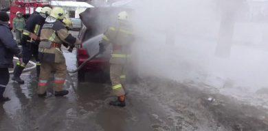 Стали відомі подробиці загоряння авто в Сумах