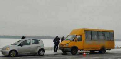 У ДТП під Сумами потрапила маршрутка: постраждало четверо людей